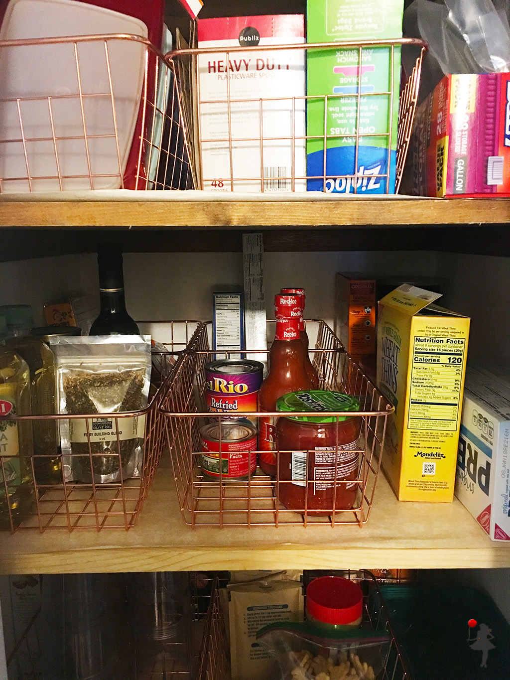 Wire Baskets Pantry Storage The